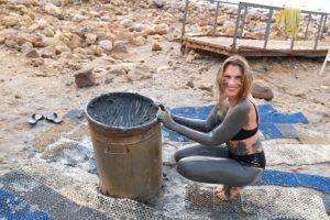 bain de boue mer morte
