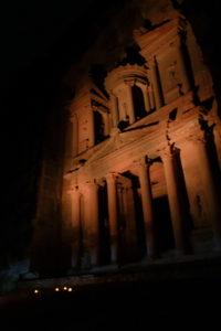 Khazneh by night