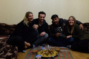 Anja & Ahmed, nos hôtes
