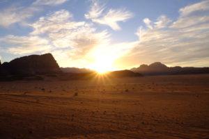 Wadi Rum coucher du soleil