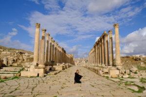 Colonnes corinthiennes de Jerash