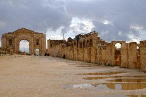 Hyppodorome et Arc d'Hadrien