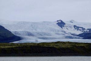 vu sur un glacier