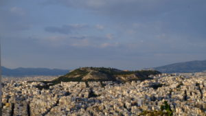 la colline de filopappou