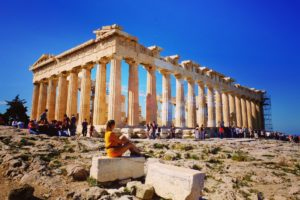 Athèna et le Parthénon !