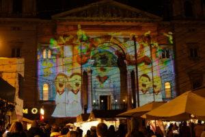 son et lumière sur la basilique saint Etienne