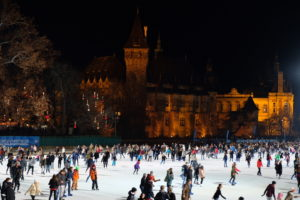 patinoire de Budapest