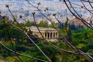 le fabuleux temple d'Héphaistos et Athéna
