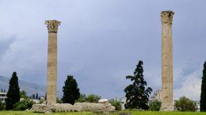 colonnes temples de Zeus