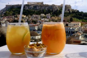 A for Athenes bar view