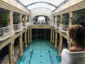 piscine des thermes Gellért