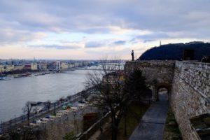 vue depuis l'esplanade du château