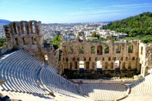 x théâtre de Dionysos