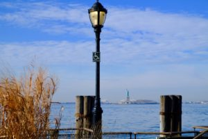 view of Battery park