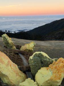 vu Panoramique du Kawah Ijen
