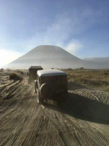 mer de sable du Mont Bromo