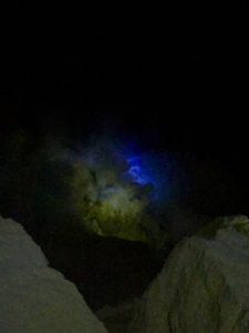 blue fire ! Kawah Ijen