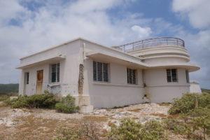 l'ancienne station météorologique de la Désirade