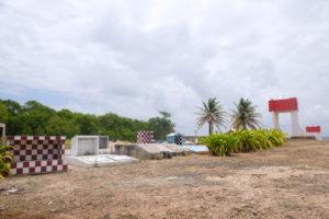 cimetière marin de la Désirade