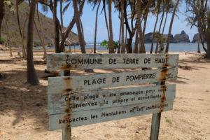 plage de la Pompière aux saintes