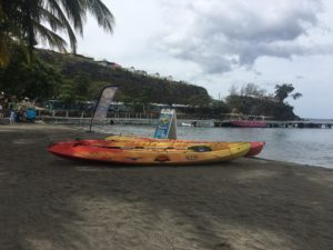 plage de malandre kayak