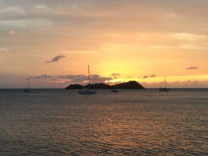 L'îlet pigeon sunset