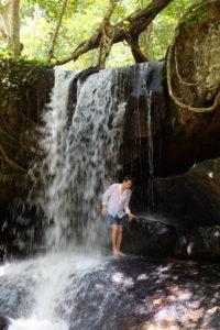 Kbal Spean cascade