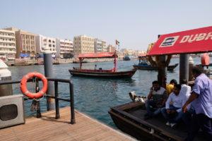 traversée en Abra Dubai