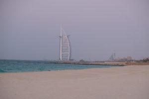 vue sur le Burj al Arab