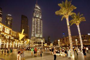 tribes Dubai by night