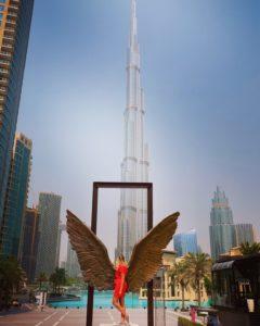 les ailes d'ange Dubai