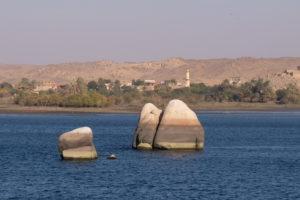 vue depuis Le temple de Philae