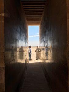 Site de la pyramide de Saqqarah