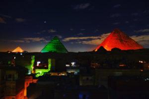 son et lumières pyramides de Gizeh