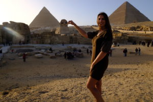 Pyramides de Gizeh Le Caire