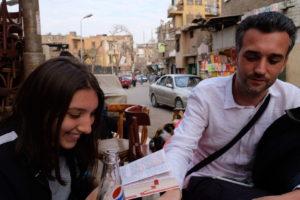 boire un verre dans Le Caire
