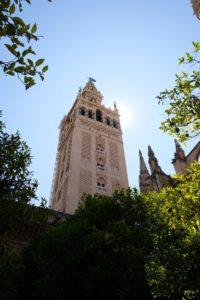 Giralda cathédrale Santa Maria Séville !