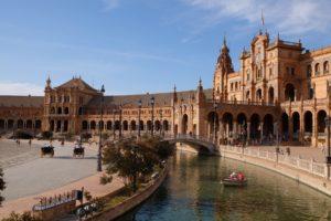 Place d'Espagne à Séville