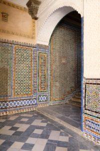 Azuléjos Casa de Pilatos Séville