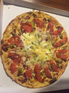pizza la fournaise !